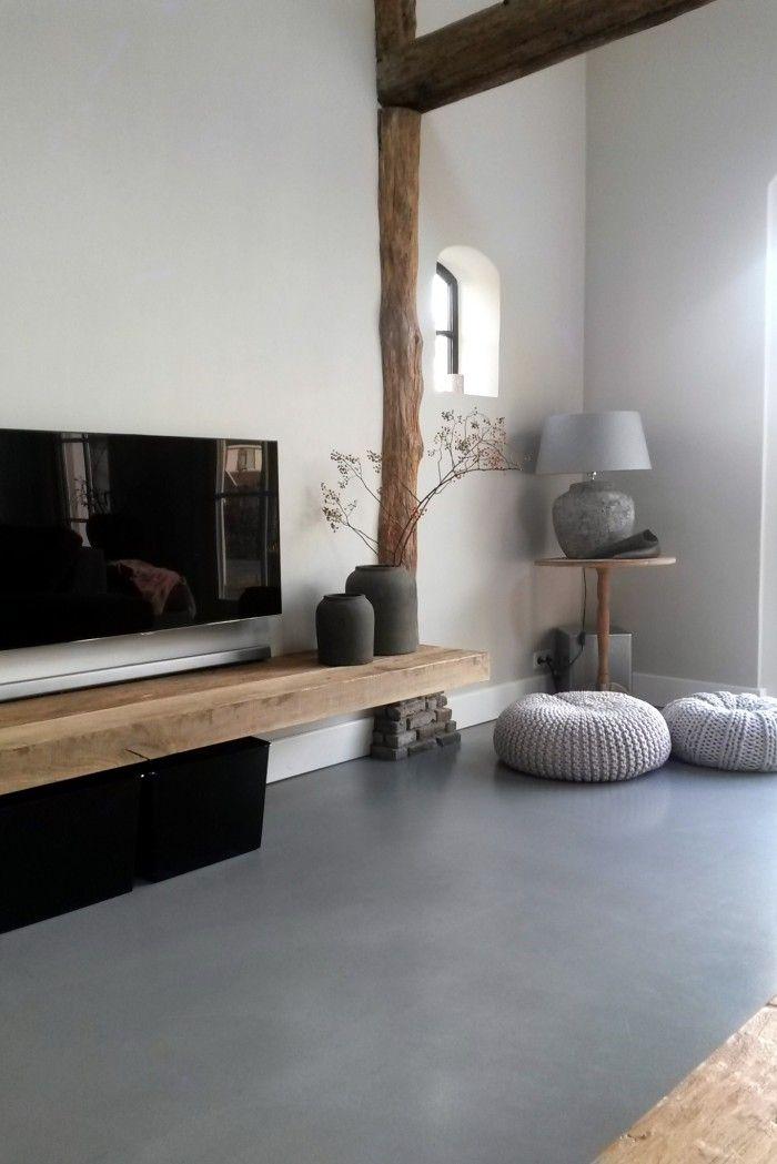 Home Decorating DIY Projects: cement gebonden gietvloer. potten ...