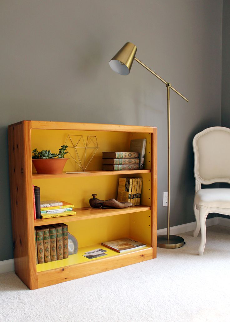 Home decorating diy projects diy thrift store bookcase for Best home decor