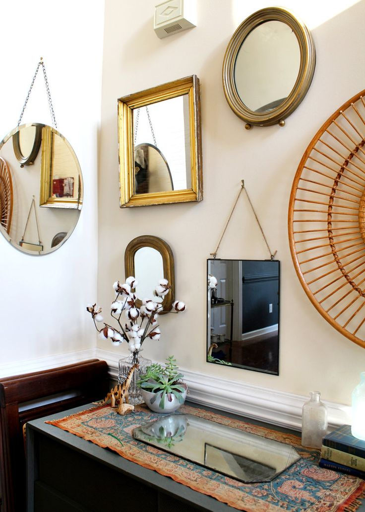 Home decorating diy projects how to design a mirror for Home decorating mirrors