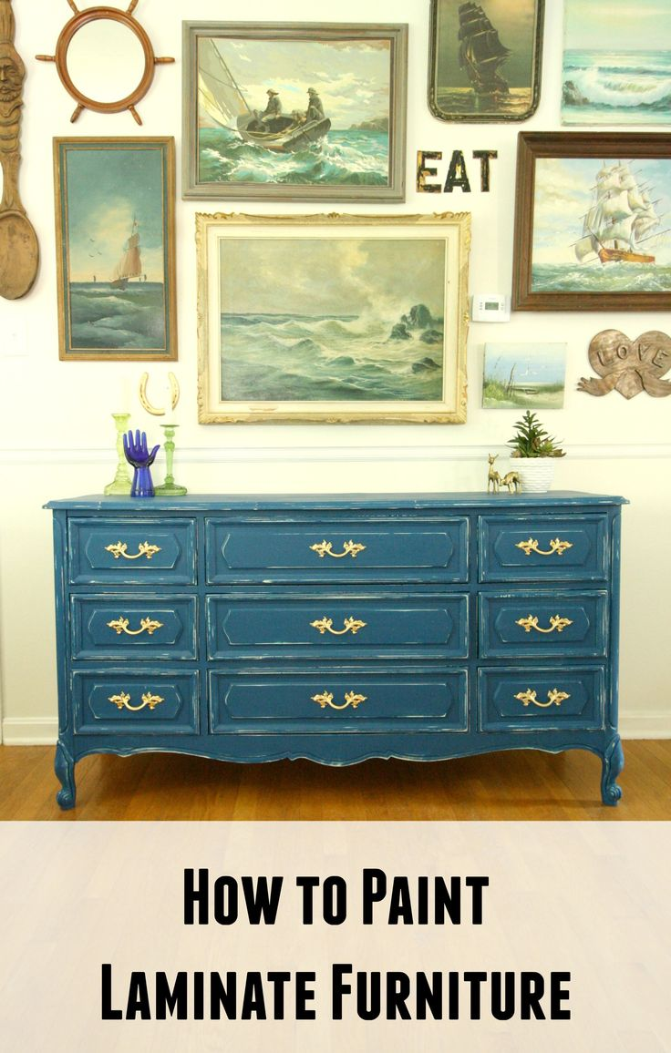 home decorating diy projects how to paint laminate. Black Bedroom Furniture Sets. Home Design Ideas