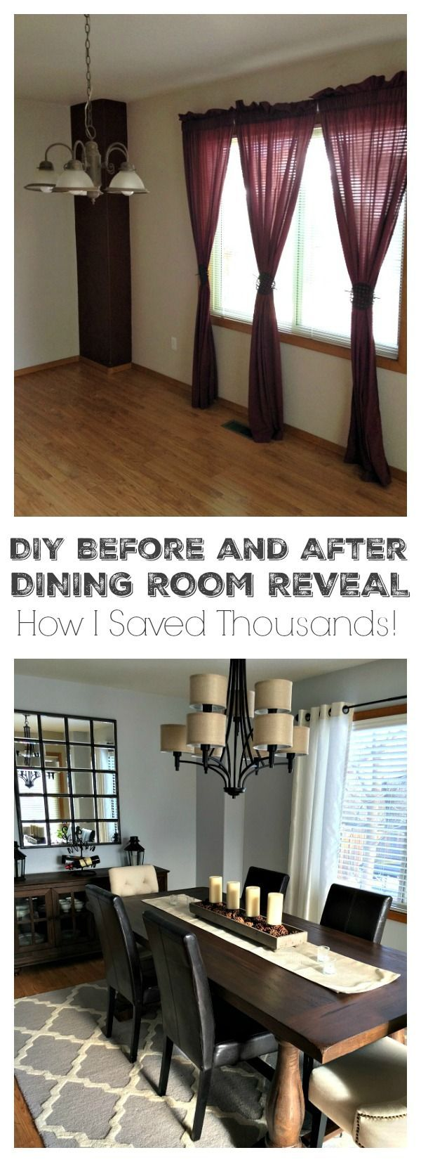 Home Decorating DIY Projects: Remodeling a dining room ...