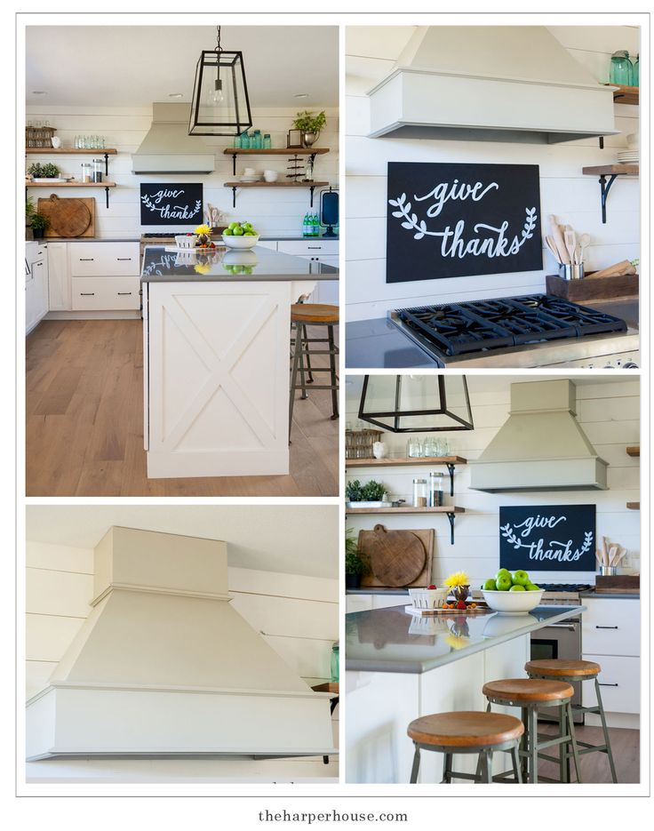 Home decorating diy projects sharing our fixer upper inspired farmhouse kitchen reveal - Inspired diy ideas small kitchen ...