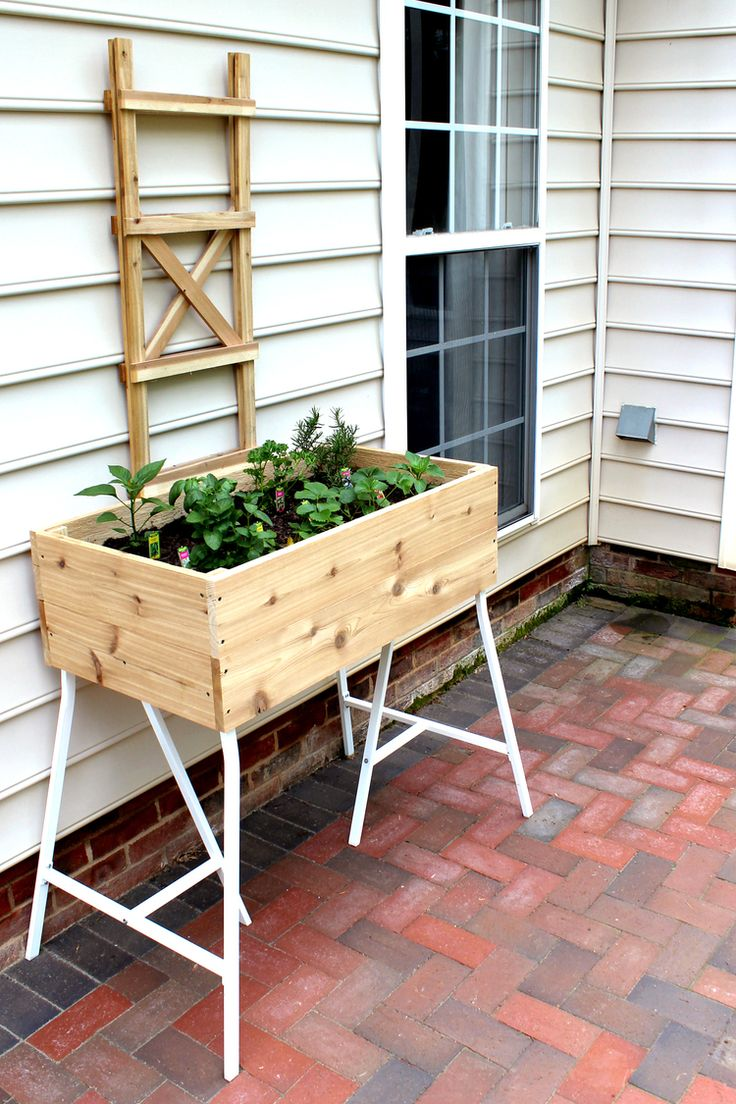 you can make this! how to build an elevated container garden with high quality c...