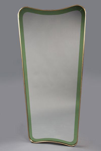 Cristal Art mirror, Italy 1950's