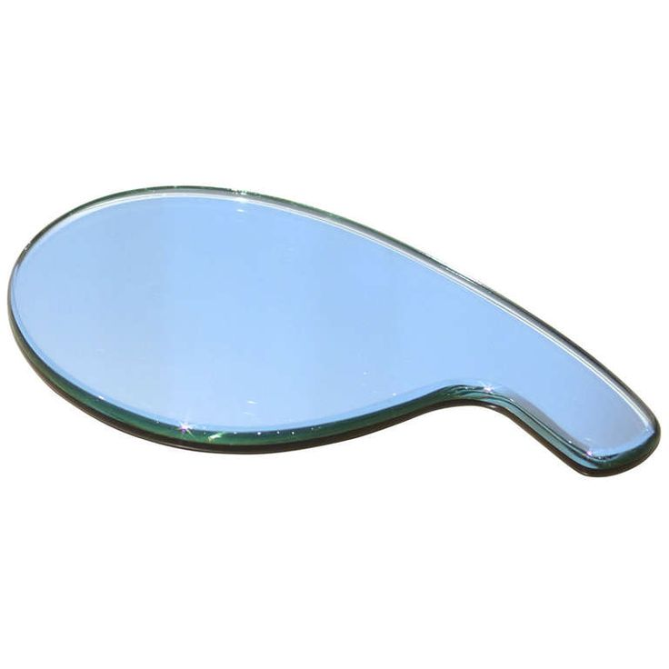Gio Ponti Hand Mirror by Fontana Arte