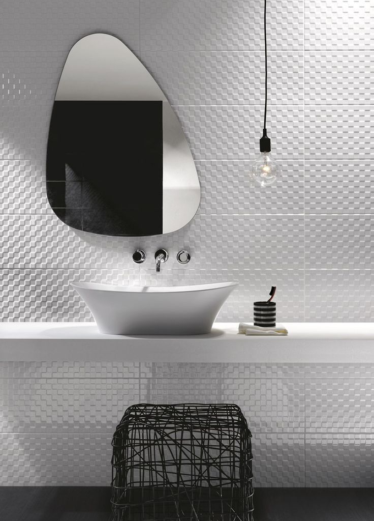 Indoor white-paste wall tiles PRESTIGE by Ragno - @Gayla Morrow Morrow Morrow Mo...