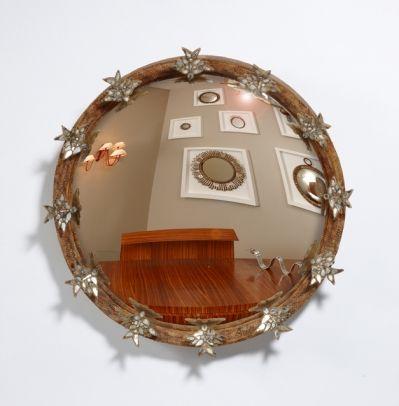 Mirrors home decor line vautrin vendu miroir aux for Miroir aux alouettes