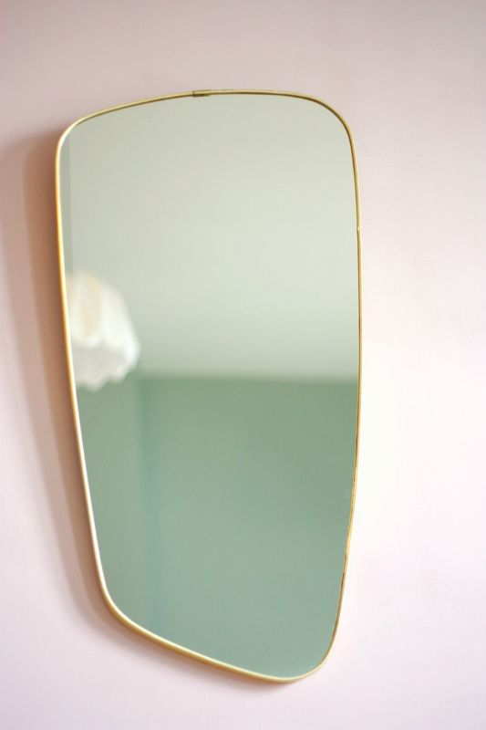 mirrors home decor miroir vintage pink wall