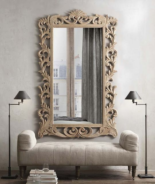 Mirrors – Home Decor : Restoration Hardware ...small spaces ...