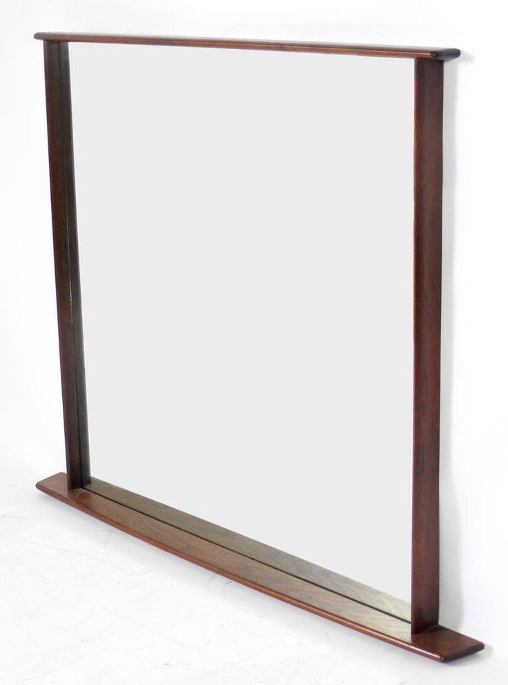 Walnut Mirror by George Nakashima for Widdicomb