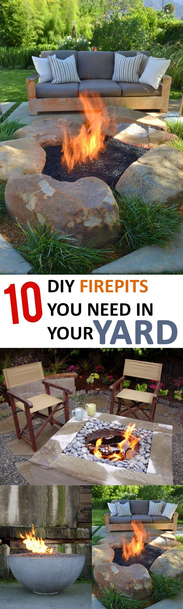 Amazing fire pit ideas that you will want for your yard!-Firepits are no longer ...