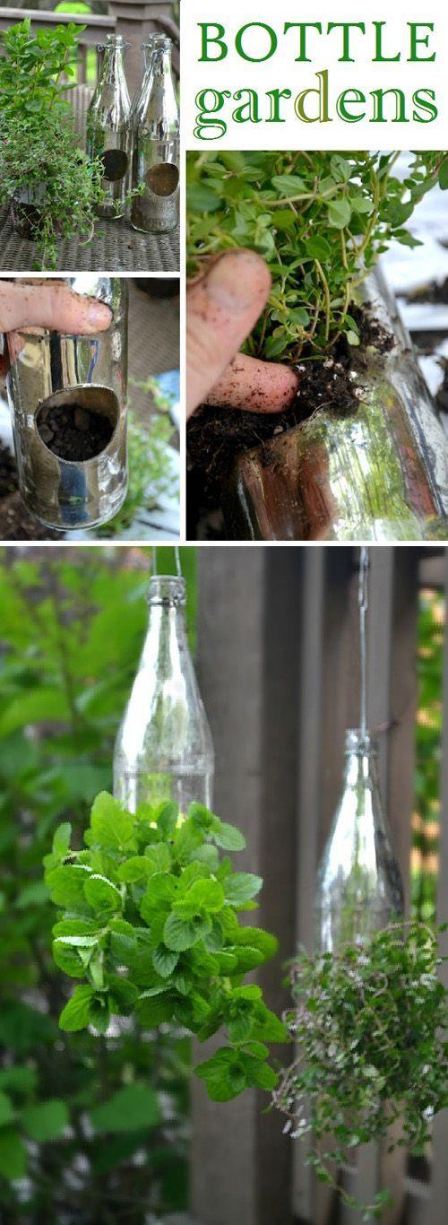 Outdoor Decorating Gardening Creative Outdoor Herb Gardens
