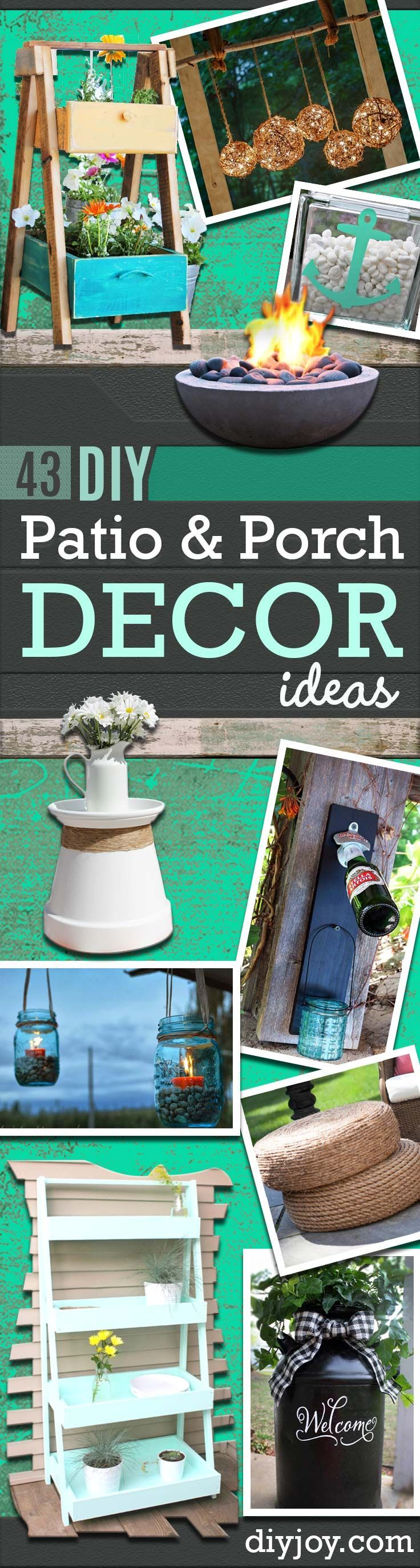 Outdoor Decorating Gardening Diy Porch And Patio Ideas Decor Projects And Furniture Tutorials You Can Build Decor Object Your Daily Dose Of Best Home Decorating Ideas Interior Design Inspiration