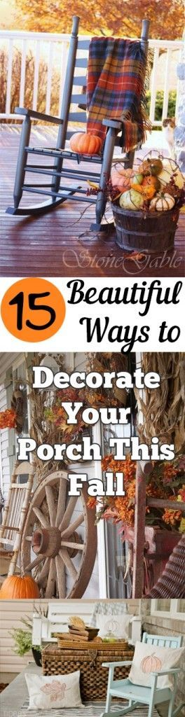 15 Beautiful Ways to Decorate Your Porch This Fall