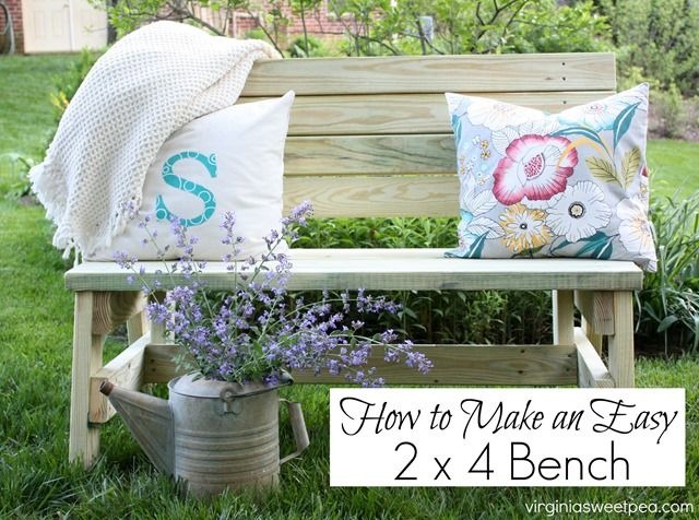 How to Build a DIY 2x4 Bench