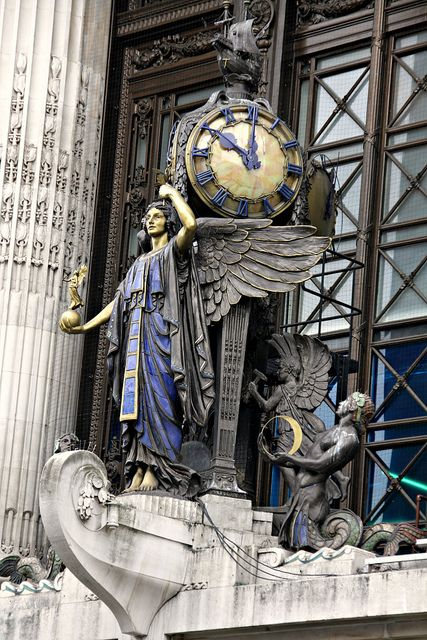 Selfridges Clock - Oxford Street, London