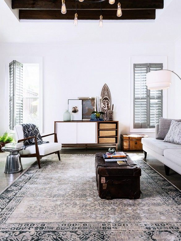 Rugs home decor 4 classic rug trends get a new year Home decor rugs