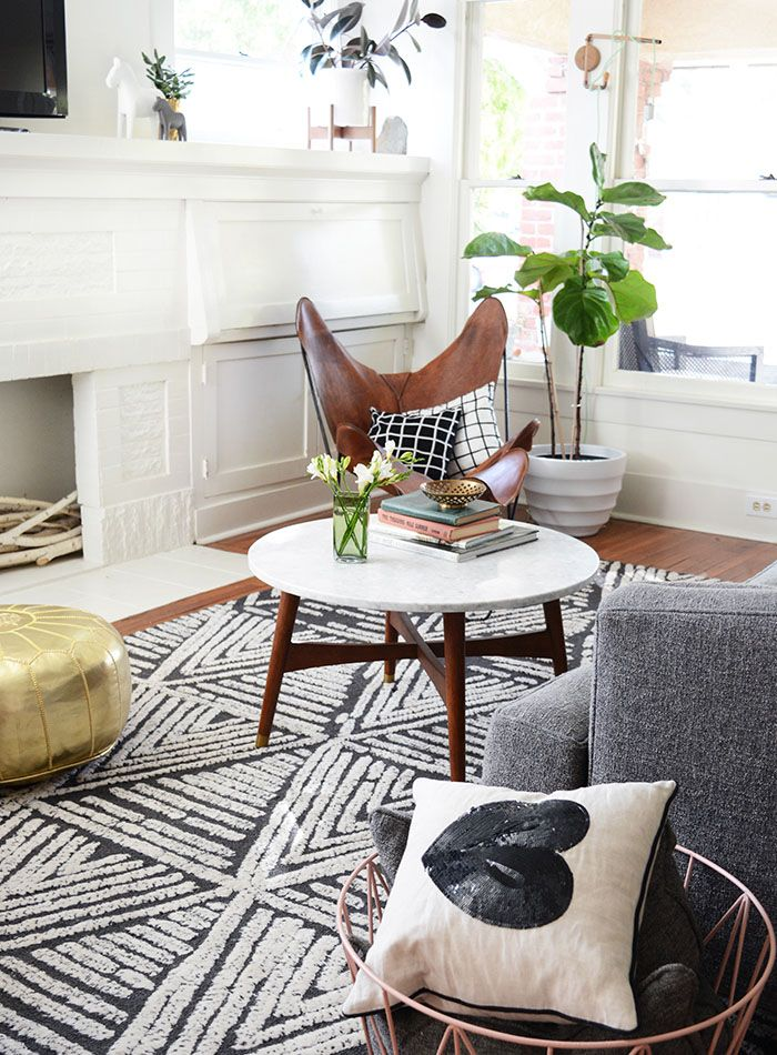 Rugs home decor hitting refresh on a 1920s era for Decorating 1920s bungalow