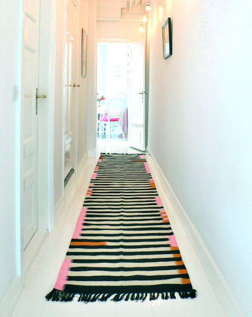 long hall rug. #rug #hall #home