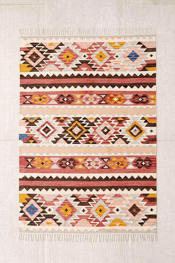 Rugs Home Decor Magical Thinking Kara Kilim Woven Rug