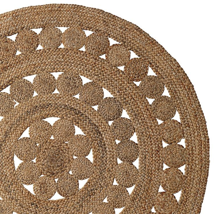 Rugs Home Decor Round Jute Rug Serenaandlily Decor Object Your Daily Dose Of Best