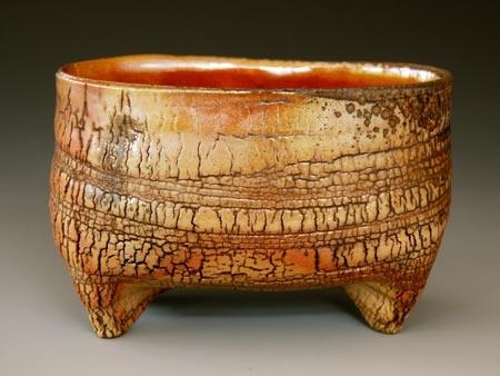Akira Satake- vase (kohiki) -stoneware -wood fired