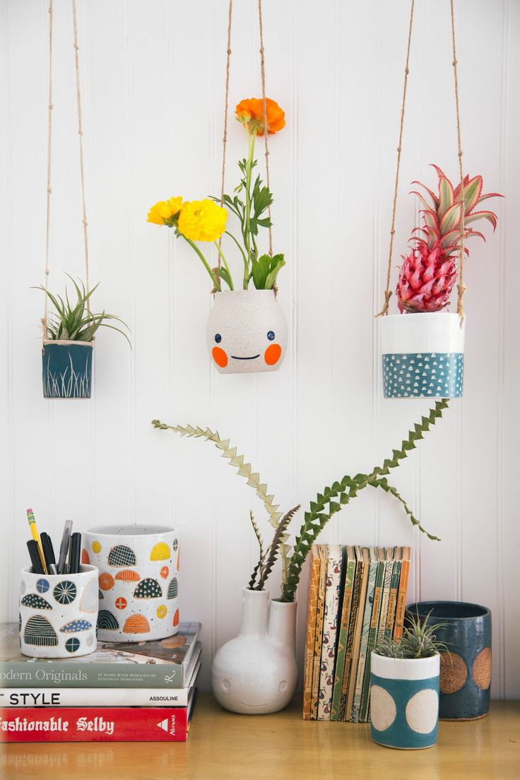 Vases Home Decor Desk With Planters Decor Object Your Daily Dose Of Best Home