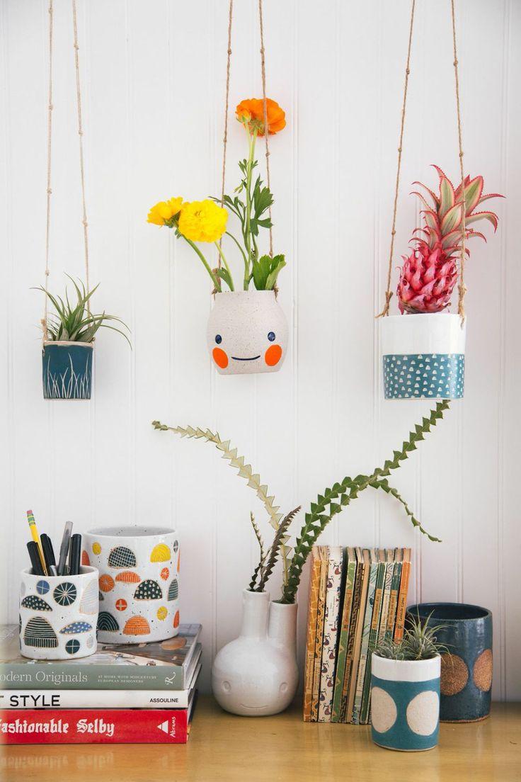 Vases Home Decor Desk With Planters Decor Object