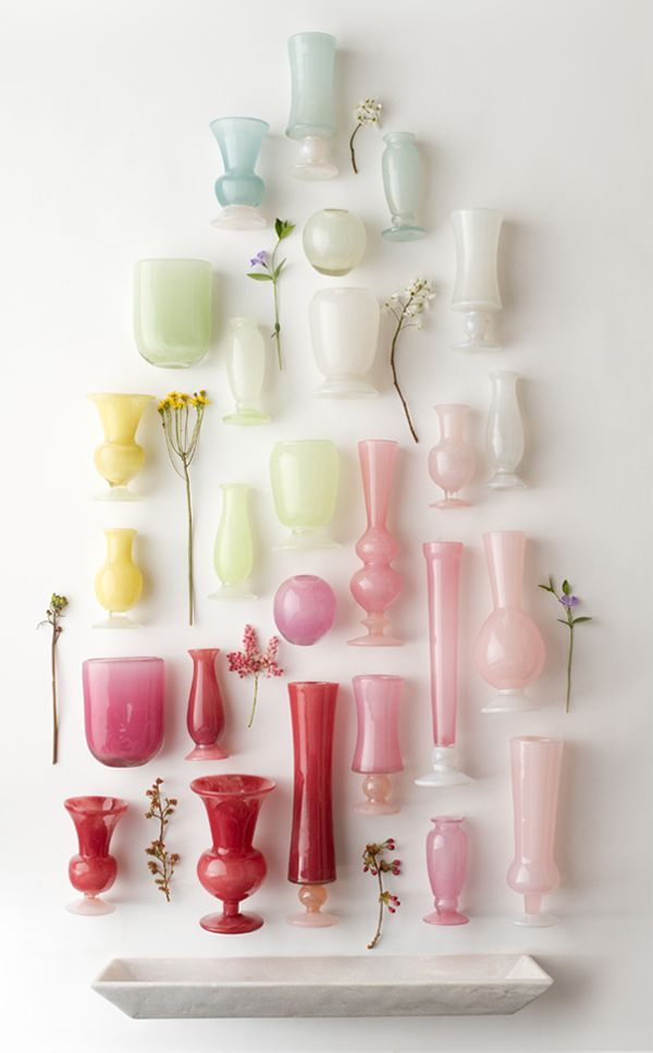 Vases home decor hand blown vases at terrain for Decorative objects for home