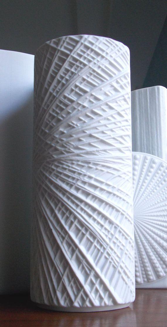 Matte White Vase Porcelain Krautheim