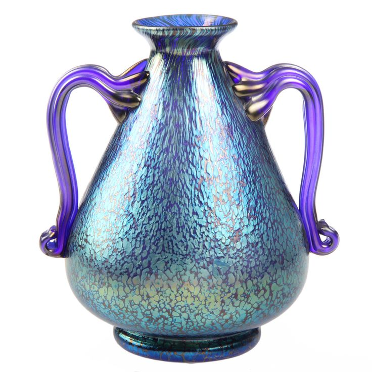 Vases Home Decor This Is An Exceptional Loetz Vase In Iridescent
