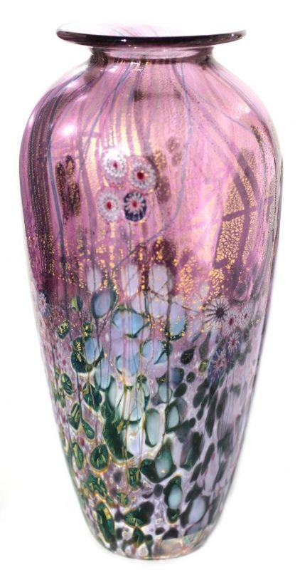 'Wilderness Vase Amethyst' - Jonathan Harris