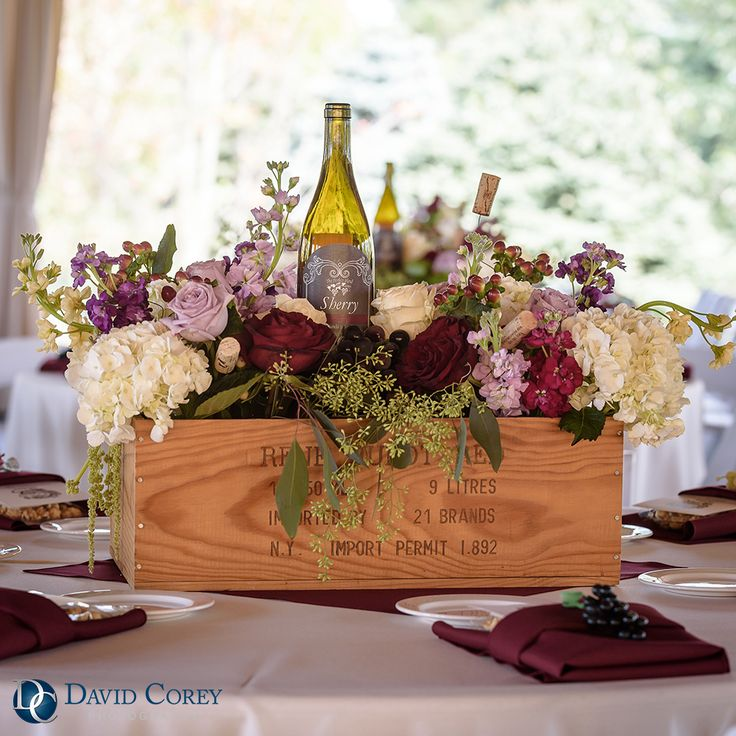 Wedding Decorative Bottles : Gervasi Vineyard Wedding Reception ...