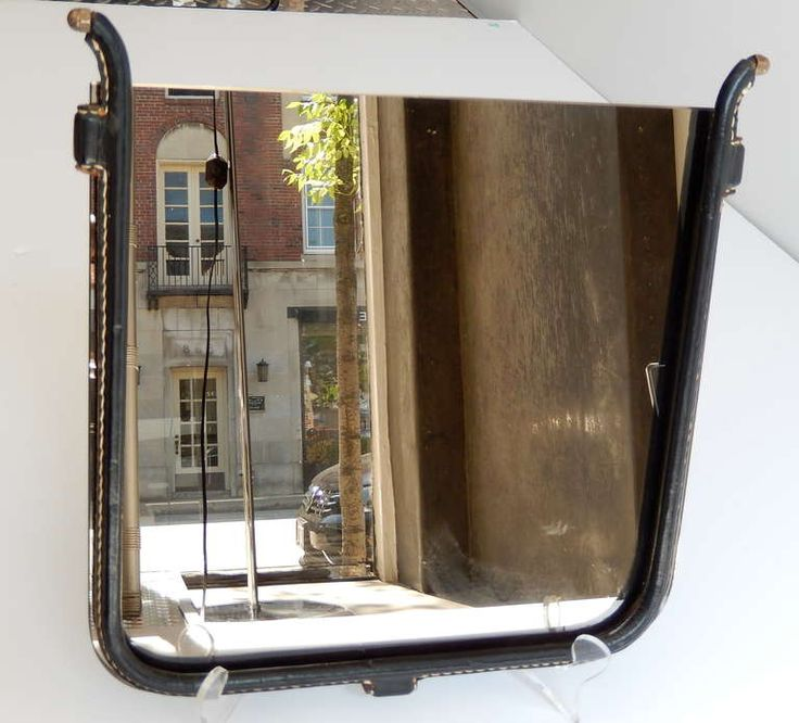 1950s French Modernist Mirror Attributed to Jacques Adnet