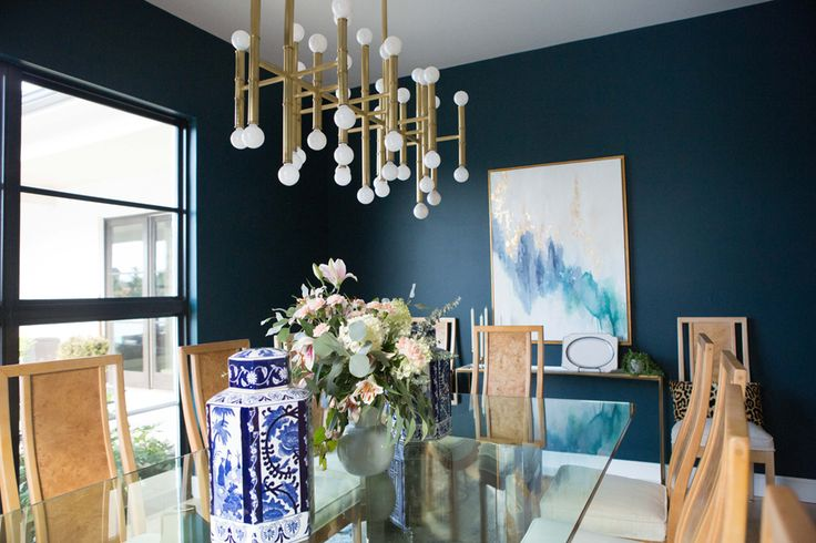 Top 3 Blue Green Paint Colors for Dark and Dramatic Walls, best dark paint color...