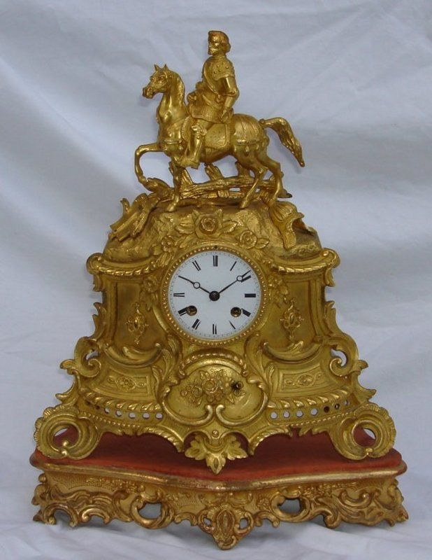 Antique Clocks Antique French Clock 18th 19th C