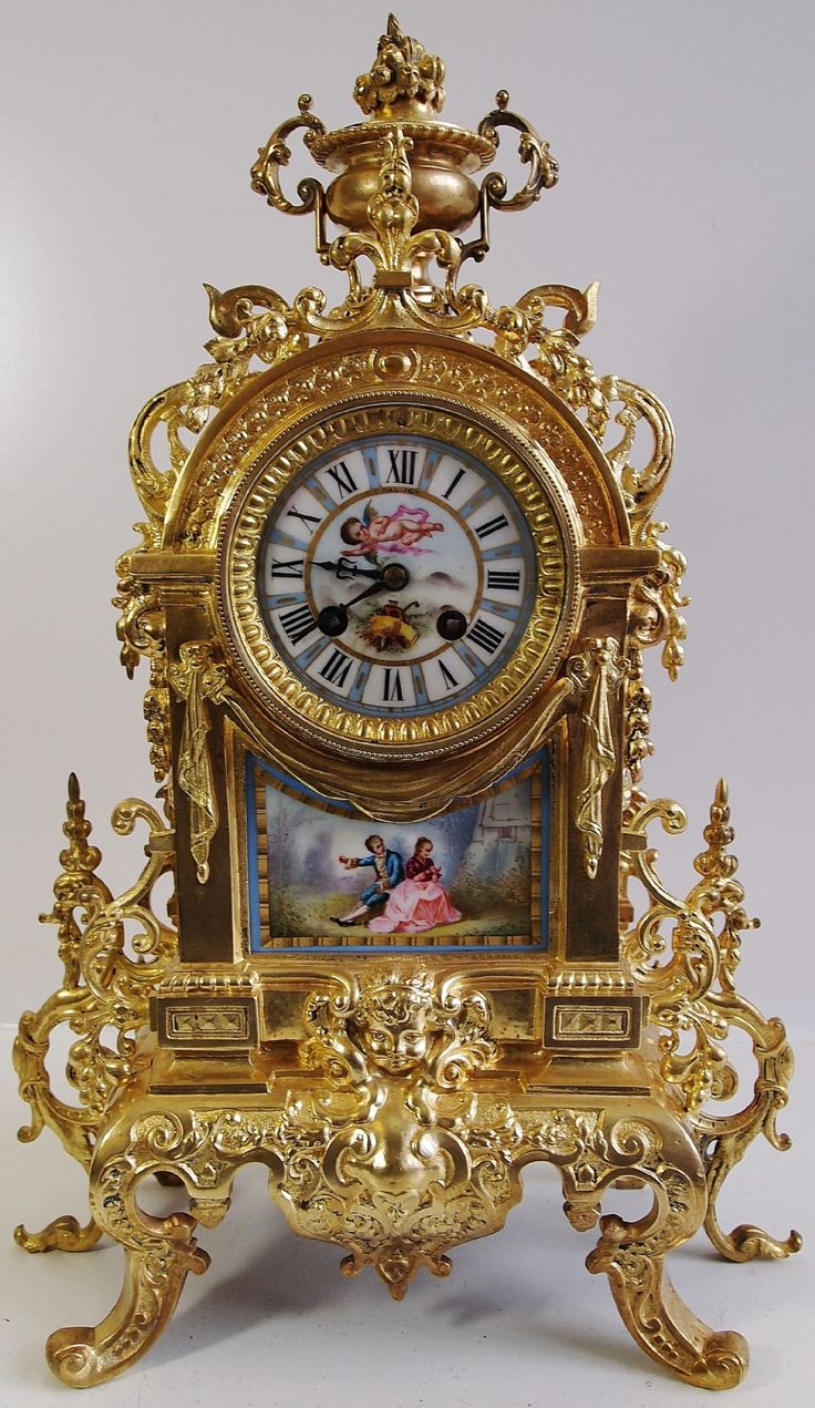 Vintage French Clock | home antique clocks antique french clocks item number 264...