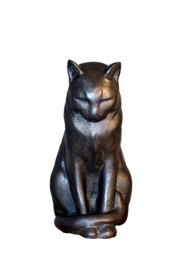 Best cats sculptures cold cast iron bronze marble sculpture by sculptor mitchell house - Wrought iron garden sculptures ...