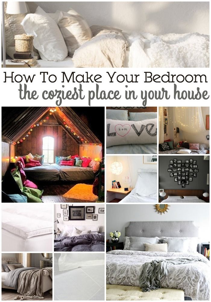 Decor hacks 15 ways to make your bedroom the coziest for Places to get room decor