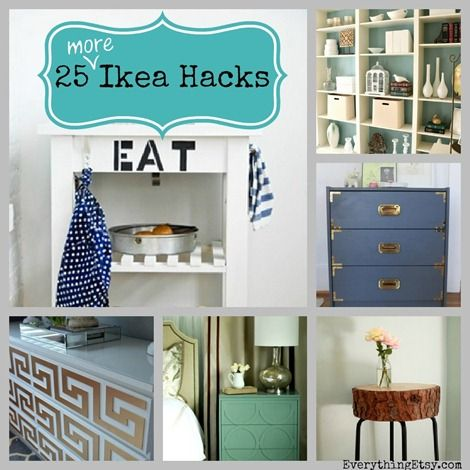 Decor Hacks 25 More Ikea Hacks Diy Home Decor