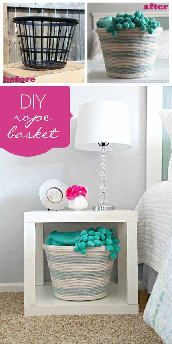 Decor Hacks 34 Fantastic Diy Home Decor Ideas With Rope