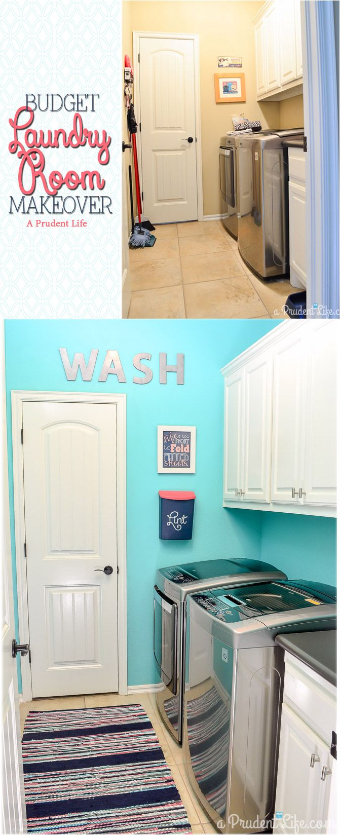 Decor Hacks An Organized Bright Laundry Room Can Be A Great Motivation To Get The Drea