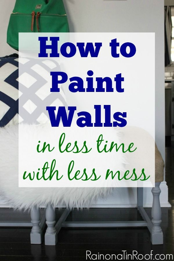 Decor Hacks Awesome Step By Step Breakdown Of Painting Walls As Well As Tips And Tricks For