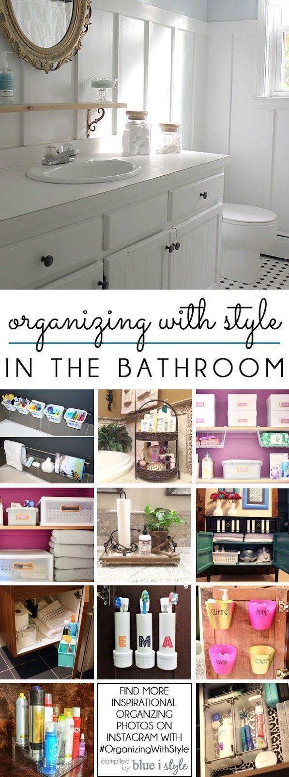 Decor Hacks Bathroom Organization Ideas 12 Great Tips