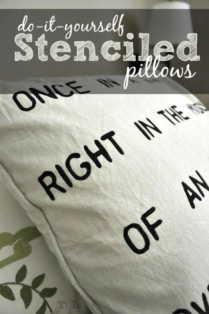 Decor hacks do it yourself stenciled pillows this girls life decor hacks do it yourself stenciled pillows this girls life blog solutioingenieria Gallery