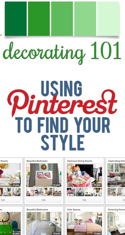 Decor Hacks : How to use Pinterest to define your style and make ...