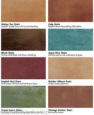Kemiko Stone Tone Acid Stain Concrete Floor Color Stains