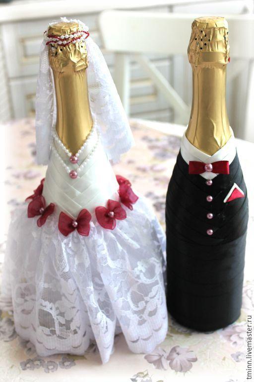 Купить Свадебные бутылки