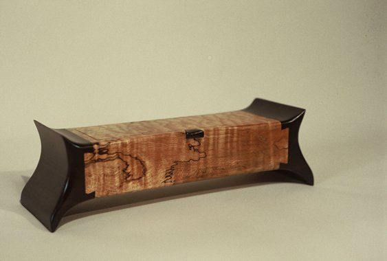 Peter Schlech Dovetail Box - Spalted Maple & Wenge...