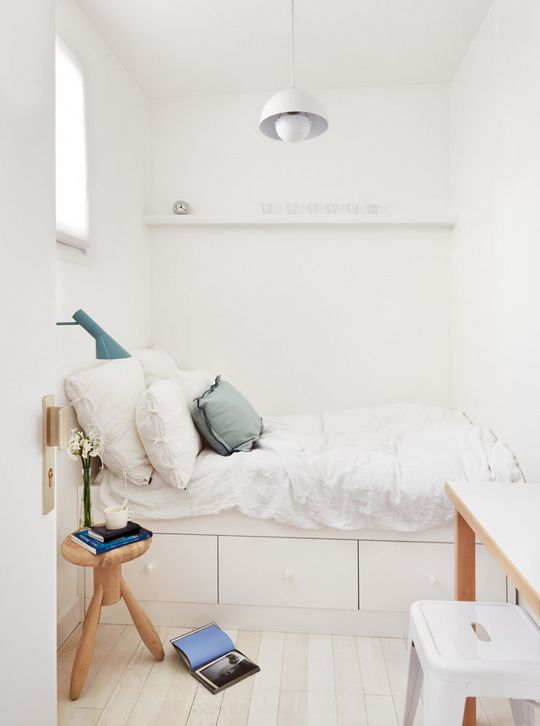 A Gallery Of Inspiring Small Bedrooms Apartment Therapy